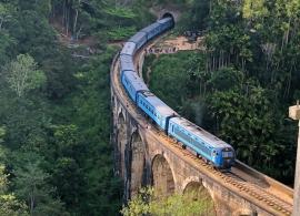 jízda vlakem v Elle