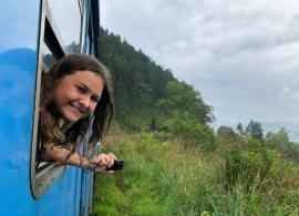 jízda vlakem, Srí Lanka