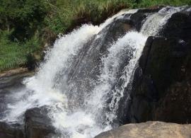 vodopád na Srí Lance