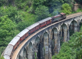 vlak v Elle, Srí Lanka