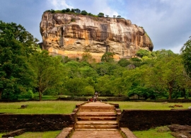 Skalní pevnost Sigiriya, Srí Lanka
