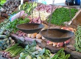 Zelenina na trhu, Srí Lanka