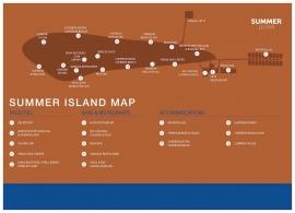 Summer island village mapa