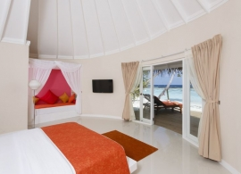 Sun Aqua Vilu Reef Maledivy - plážová vila