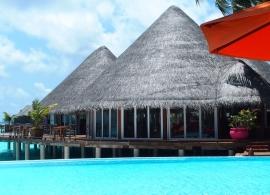 Sun Aqua Vilu Reef Maledivy - restaurace Aqua