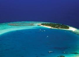 Sun Aqua Vilu Reef - letecký pohled