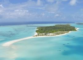 Sun Island resort - letecký pohled
