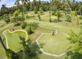 Sun Island resort - minigolf