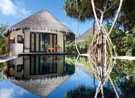 Sun Siyam Iru Fushi - plážová vila deluxe s bazénem