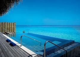 Velaa Private Island - Sunrise vodní vila s bazénem