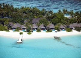 Plážové vily s bazénem - Velassaru