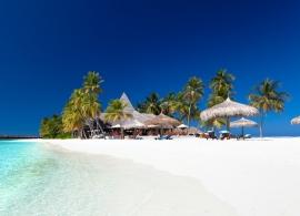 Veligandu - pláž