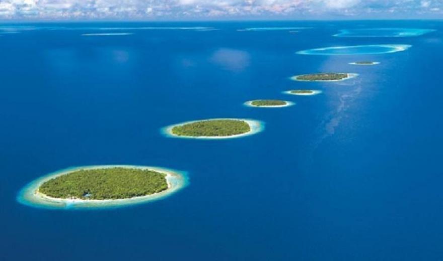 Maledivy dovolená - let na Maledivy