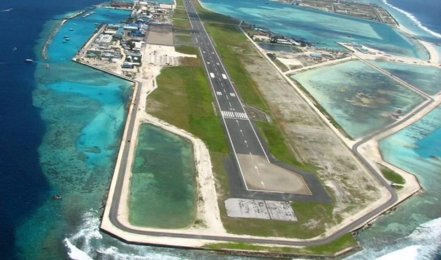 Maledivy dovolená - letiště Maledivy
