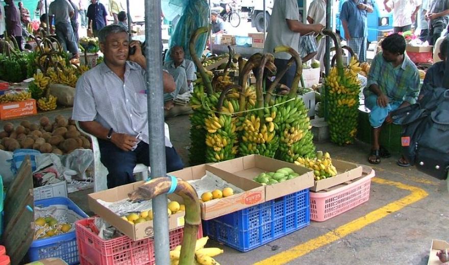 Trh v Malé