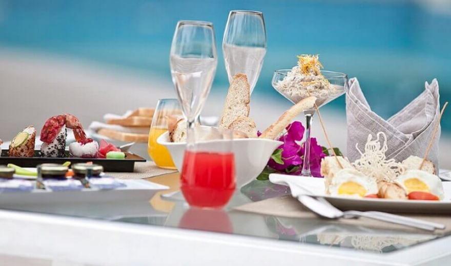 Maledivy - jídlo a pití