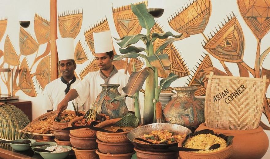 Maledivy dovolená - jídlo
