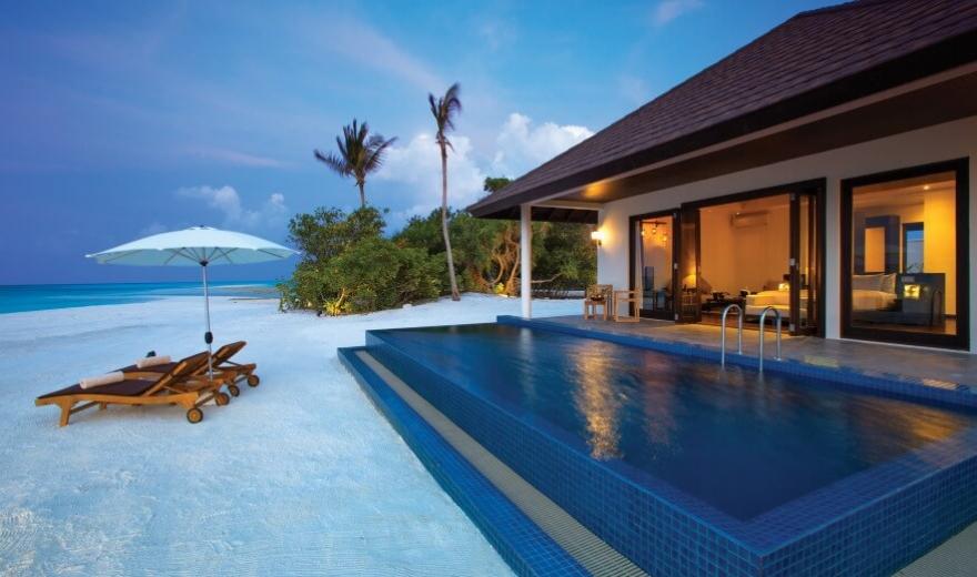 Ceny ubytování na Maledivách v resortech