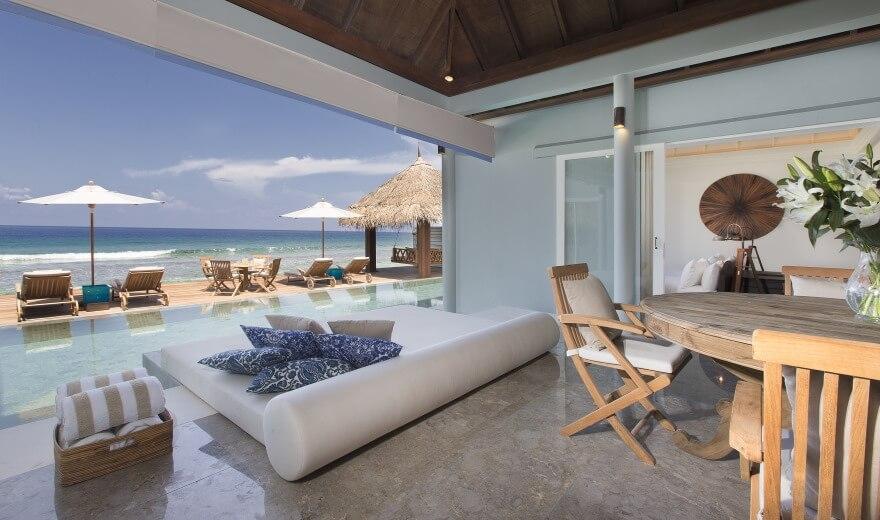 Ceny za ubytování na Maledivách