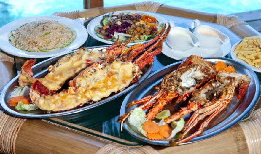 Jídlo na Maledivách - Ryby a mořské plody
