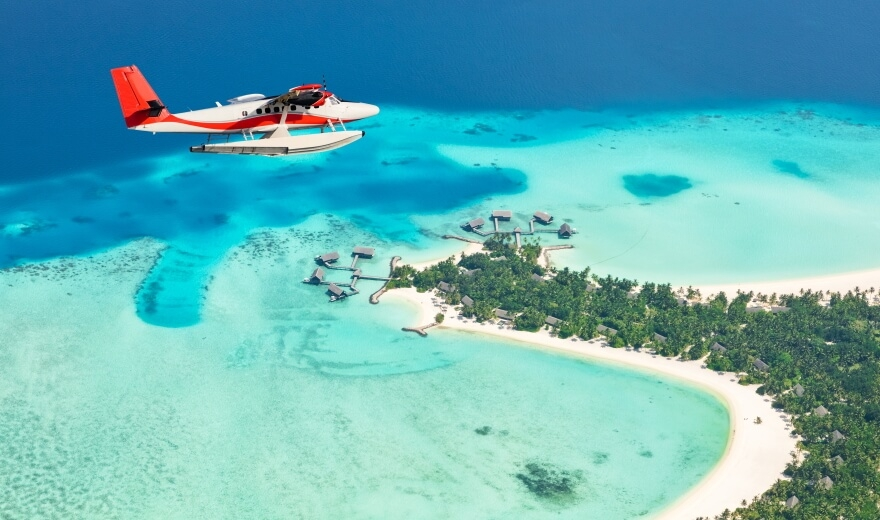 Letenky na Maledivy