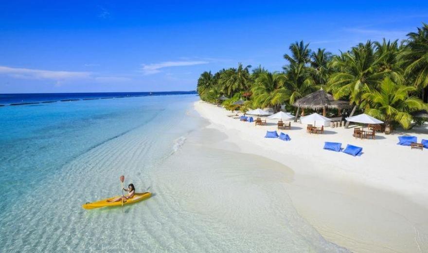 Moře hvězd na Maledivách