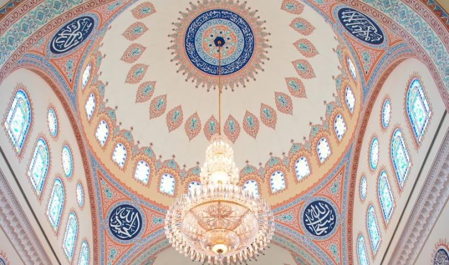 Celká mešita - Muškat, Omán