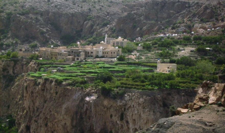 Jebel Akhdar - Zelená hora, Omán