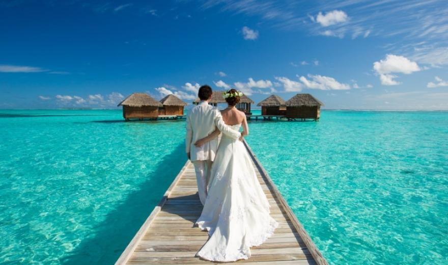 Svatební cesty na Maledivy