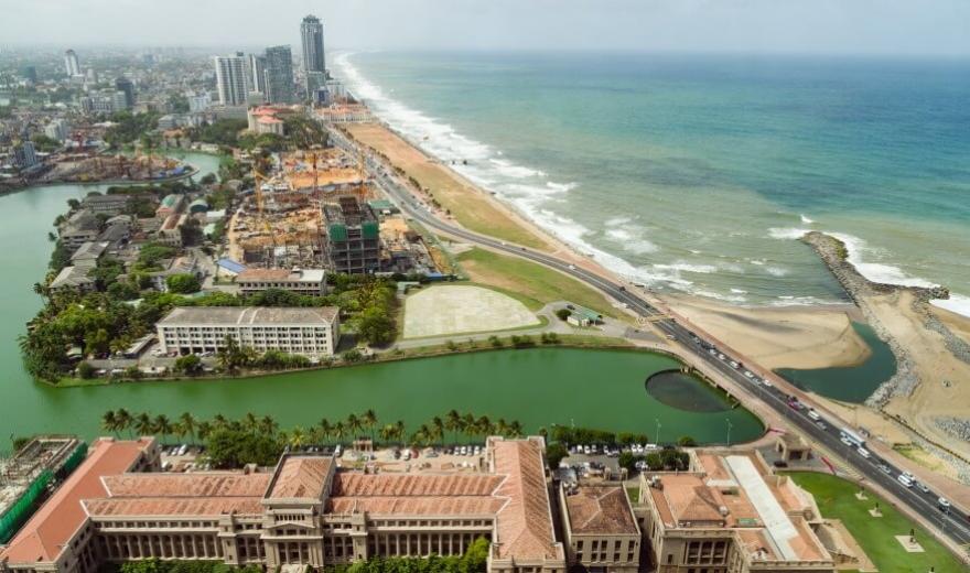 Hlavní město Srí Lanky