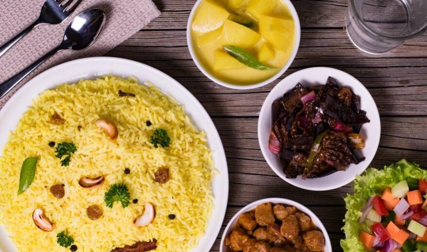 Jídlo a pití na Srí Lance