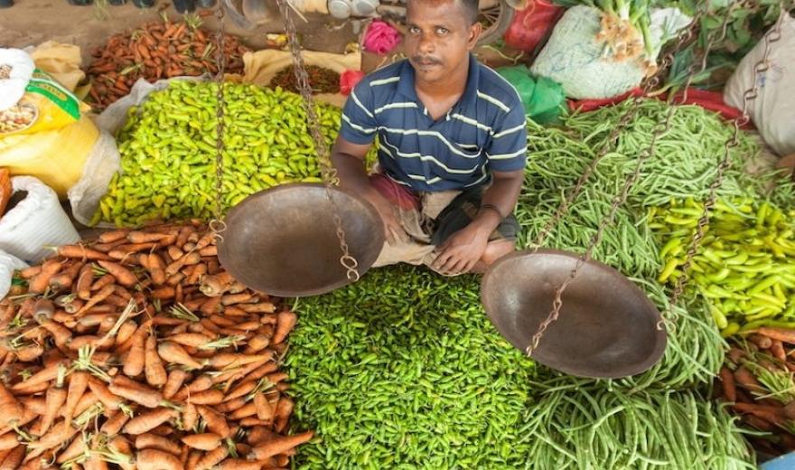 Lidé na ostrově Srí Lanka