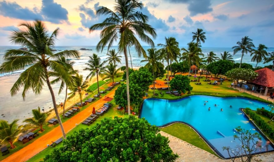 Srí Lanka dovolená - ubytování Srí Lanka