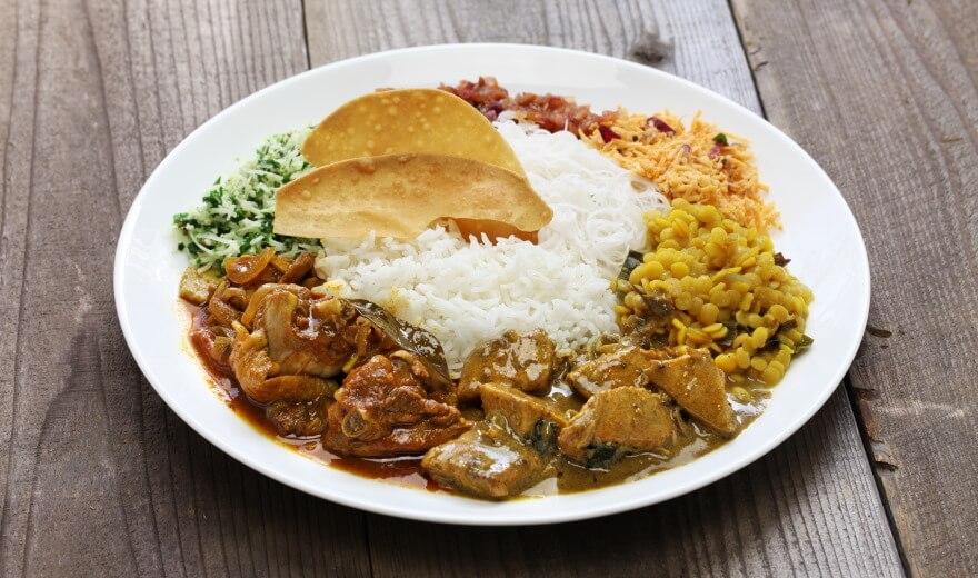 Ceny jídla na Srí Lance
