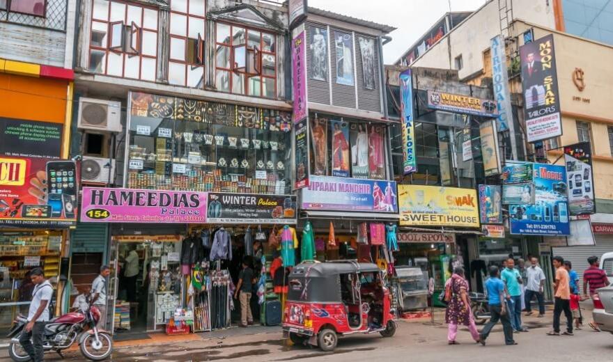 Kotte - hlavní město Srí Lanky