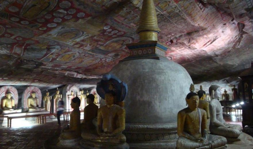 Skalní chrám Dambula