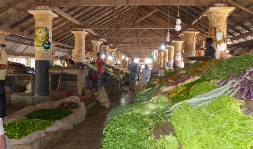 Holandská tržnice v Galle