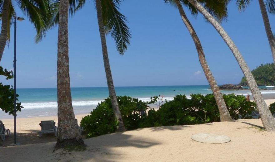 Pláž Mirissa