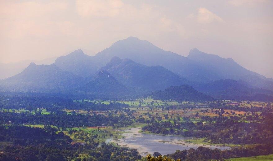 Turistika na Srí Lance - Pohoří Knuckles