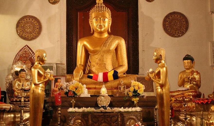 Chrám Buddhova zubu Kandy