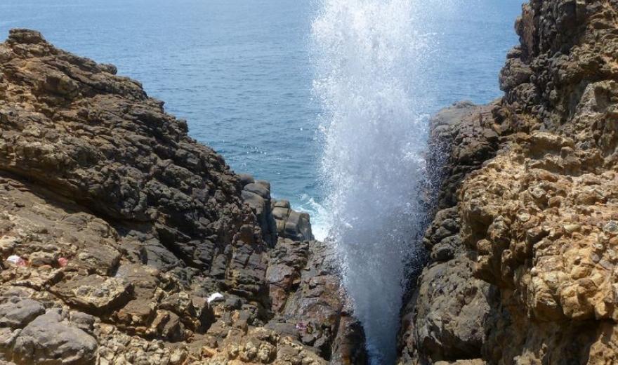 Skalní komín na Srí Lance