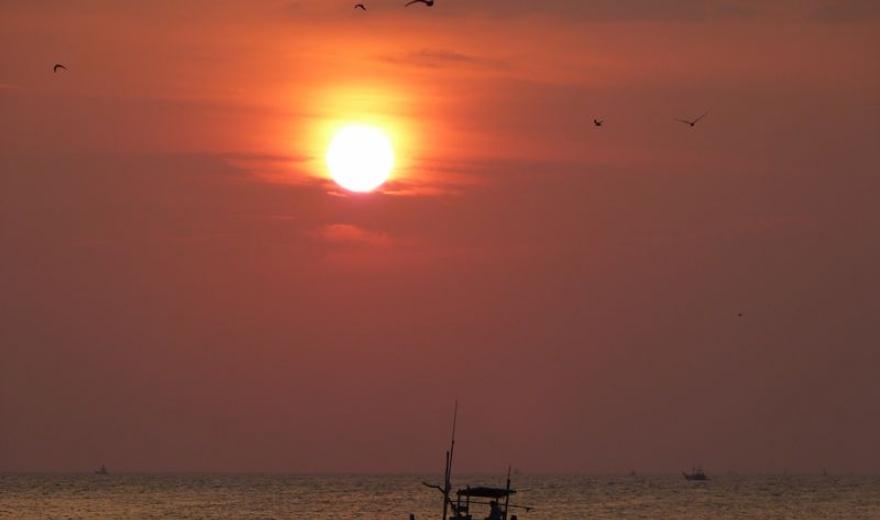 Západ slunce, Srí Lanka