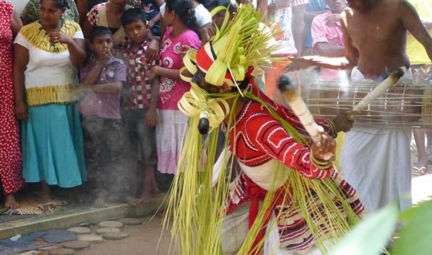 Vymítání ďábla tancem