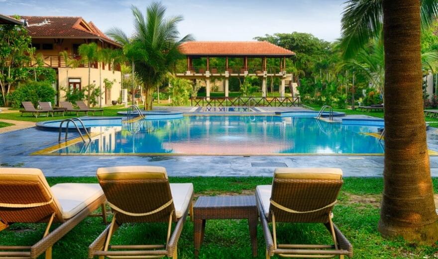 Srí Lanka - druhy ubytování